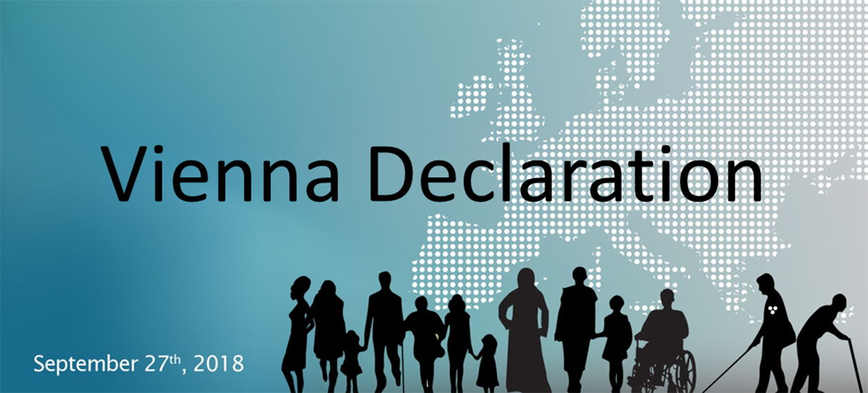 The Vienna Declaration makes a stand for better opportunities for persons with disabilities in the labour market.